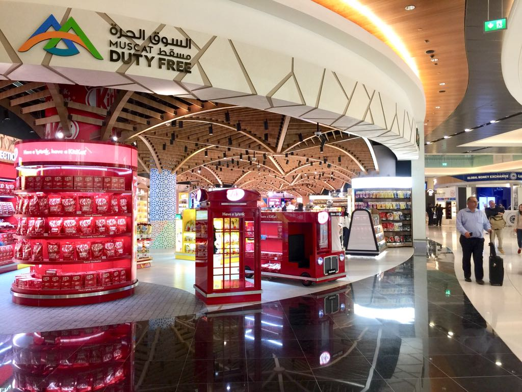 Muscat Duty Free Unveils Impressive New Store At Muscat